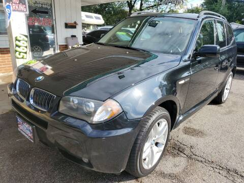 2006 BMW X3 for sale at New Wheels in Glendale Heights IL