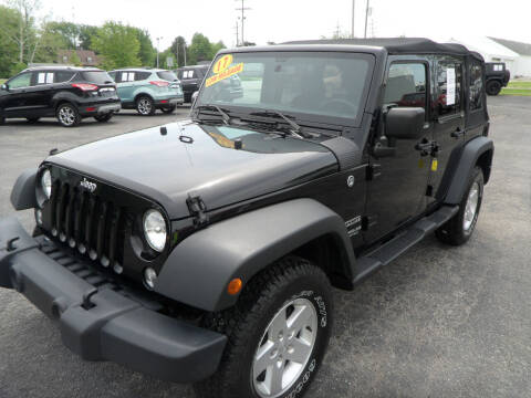 2017 Jeep Wrangler Unlimited for sale at CARSON MOTORS in Cloverdale IN