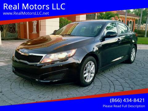 2011 Kia Optima for sale at Real Motors LLC in Clearwater FL