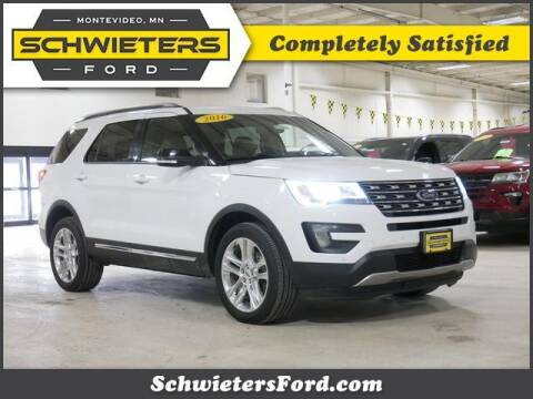 2016 Ford Explorer for sale at Schwieters Ford of Montevideo in Montevideo MN
