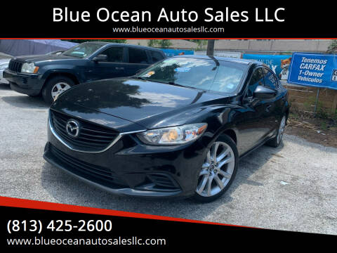 2016 Mazda MAZDA6 for sale at Blue Ocean Auto Sales LLC in Tampa FL