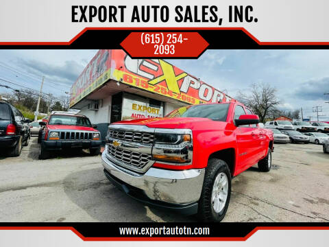 2018 Chevrolet Silverado 1500 for sale at EXPORT AUTO SALES, INC. in Nashville TN