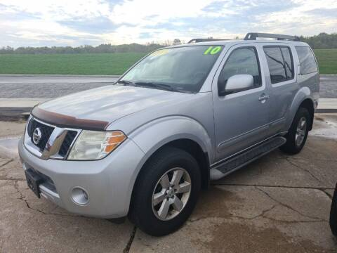 2010 Nissan Pathfinder for sale at River Motors in Portage WI