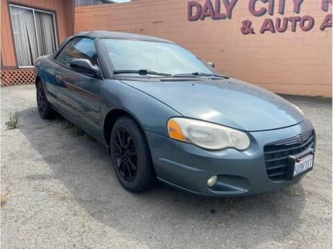 2006 Chrysler Sebring for sale at SF Bay Motors in Daly City CA