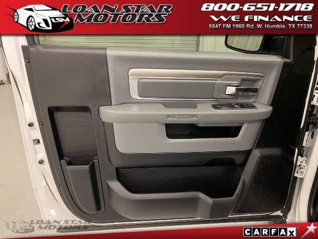 2019 RAM Ram Pickup 1500 Classic 4x2 Tradesman 2dr Regular Cab 8 ft. LB Pickup - Humble TX