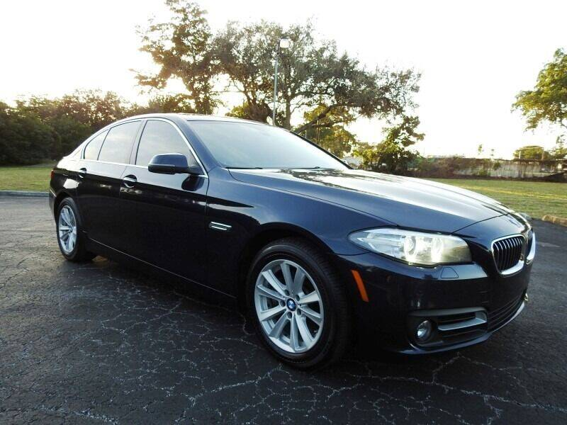 2015 BMW 5 Series for sale at SUPER DEAL MOTORS 441 in Hollywood FL