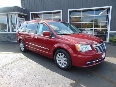 2016 Chrysler Town and Country for sale at Akron Auto Sales in Akron OH
