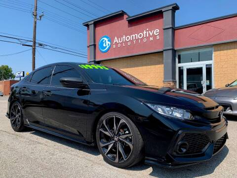 2017 Honda Civic for sale at Automotive Solutions in Louisville KY