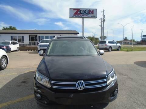 2012 Volkswagen Tiguan for sale at Zoom Auto Sales in Oklahoma City OK