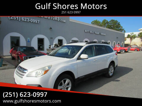 2013 Subaru Outback for sale at Gulf Shores Motors in Gulf Shores AL