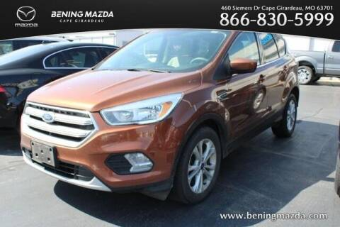 2017 Ford Escape for sale at Bening Mazda in Cape Girardeau MO