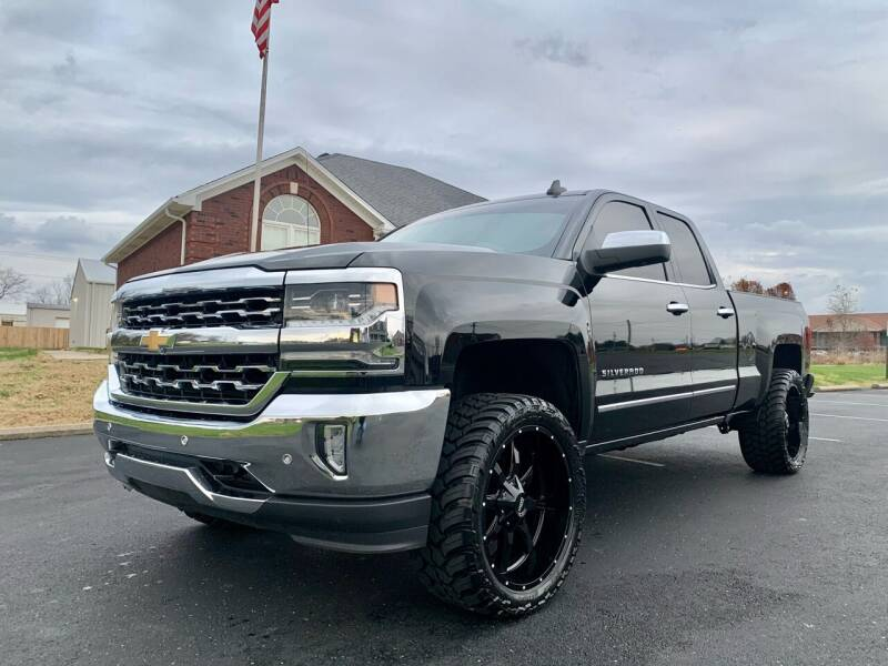 2017 Chevrolet Silverado 1500 for sale at HillView Motors in Shepherdsville KY