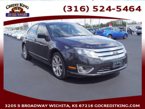 2012 Ford Fusion for sale at Credit King Auto Sales in Wichita KS