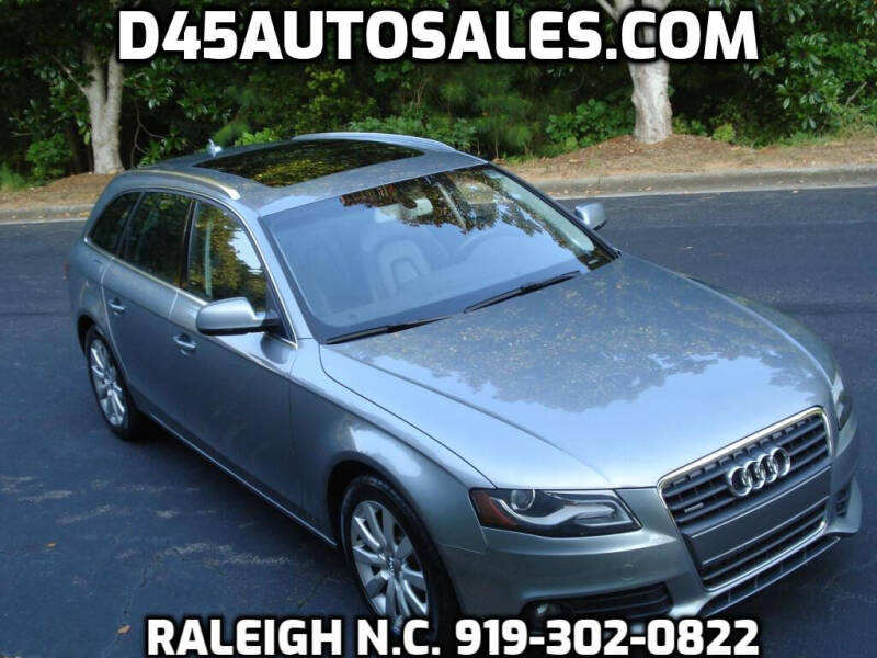 2011 Audi A4 for sale at D45 Auto Brokers in Raleigh NC