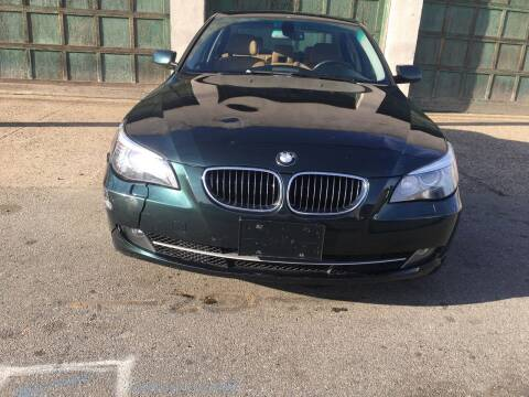 2008 BMW 5 Series for sale at Illinois Auto Sales in Paterson NJ