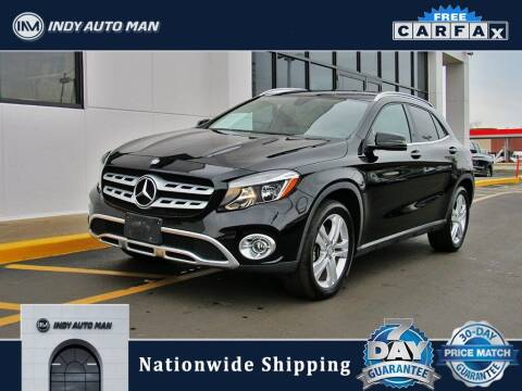 2018 Mercedes-Benz GLA for sale at INDY AUTO MAN in Indianapolis IN