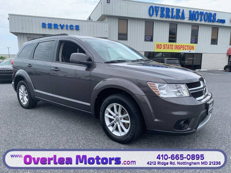 2015 Dodge Journey for sale at Overlea Motors in Baltimore MD