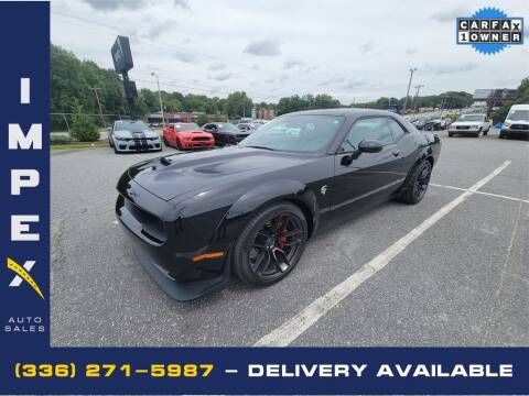 2018 Dodge Challenger for sale at Impex Auto Sales in Greensboro NC