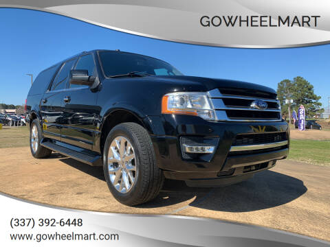 2017 Ford Expedition EL for sale at GoWheelMart in Leesville LA