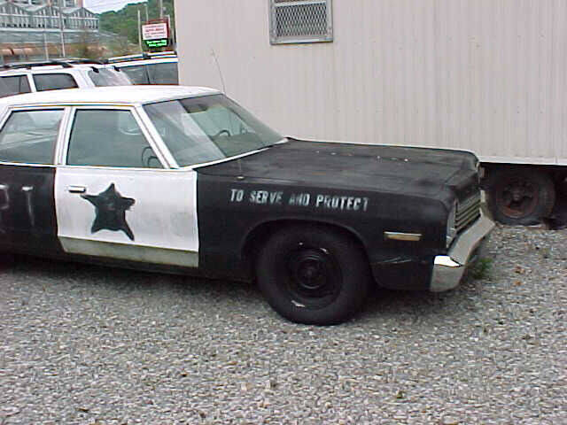 1976 Dodge Monaco BLUES BROTHERS - Pittsburgh PA
