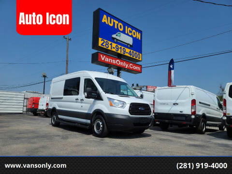 2016 Ford Transit Cargo for sale at Auto Icon in Houston TX