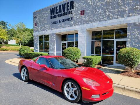 2005 Chevrolet Corvette for sale at Weaver Motorsports Inc in Cary NC