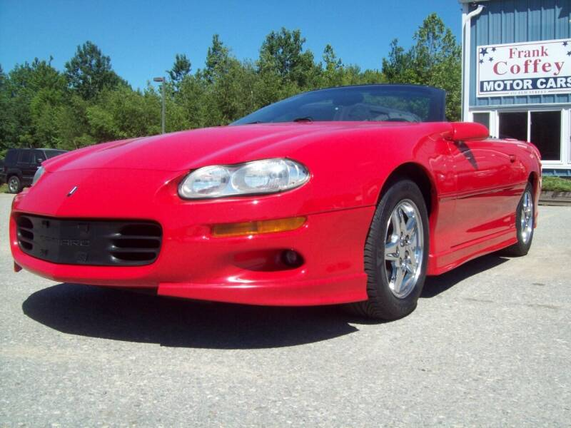 1998 Chevrolet Camaro for sale at Frank Coffey in Milford NH