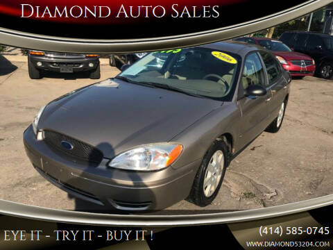 2006 Ford Taurus for sale at Diamond Auto Sales in Milwaukee WI
