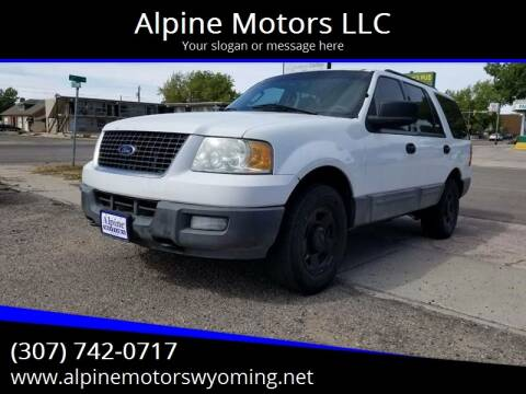 2006 Ford Expedition for sale at Alpine Motors LLC in Laramie WY