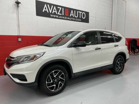 2016 Honda CR-V for sale at AVAZI AUTO GROUP LLC in Gaithersburg MD
