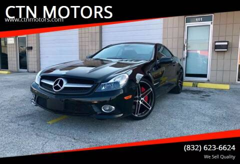 2009 Mercedes-Benz SL-Class for sale at CTN MOTORS in Houston TX