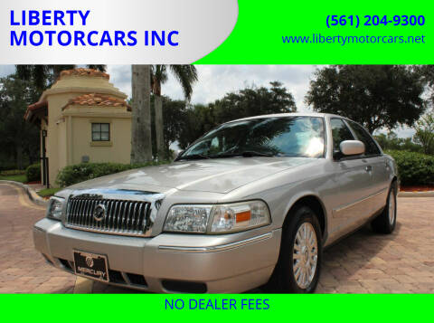 2006 Mercury Grand Marquis for sale at LIBERTY MOTORCARS INC in Royal Palm Beach FL
