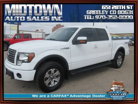 2012 Ford F-150 for sale at MIDTOWN AUTO SALES INC in Greeley CO