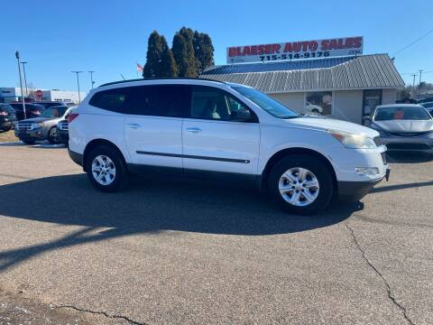 2009 Chevrolet Traverse for sale at BLAESER AUTO LLC in Chippewa Falls WI