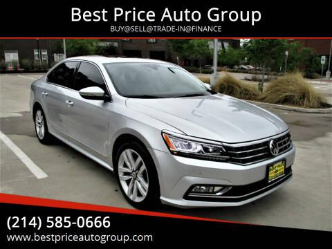 2016 Volkswagen Passat for sale at Best Price Auto Group in Mckinney TX