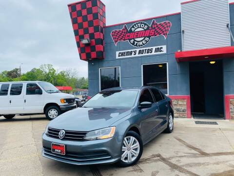 2015 Volkswagen Jetta for sale at Chema's Autos & Tires in Tyler TX