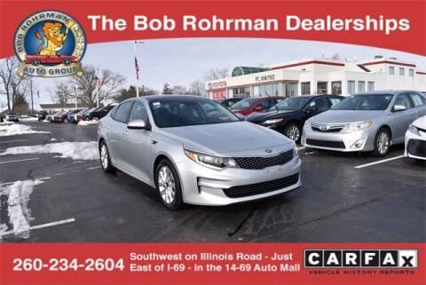 2016 Kia Optima for sale at BOB ROHRMAN FORT WAYNE TOYOTA in Fort Wayne IN