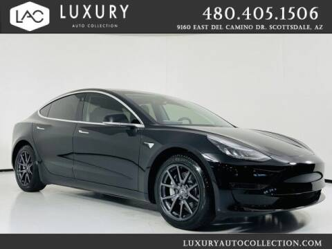 2019 Tesla Model 3 for sale at Luxury Auto Collection in Scottsdale AZ