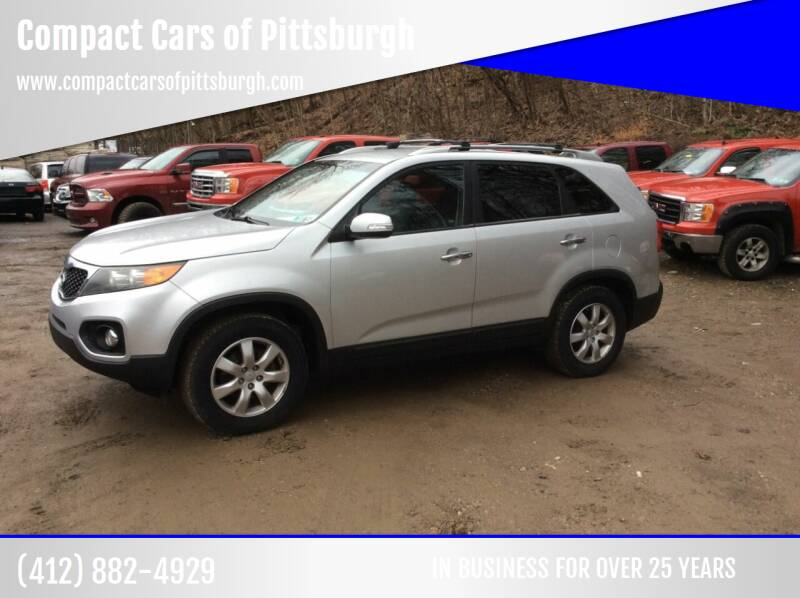 2012 Kia Sorento for sale at Compact Cars of Pittsburgh in Pittsburgh PA