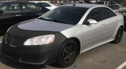 2010 Pontiac G6 for sale at D & J AUTO EXCHANGE in Columbus IN