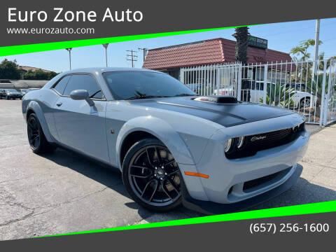 2021 Dodge Challenger for sale at Euro Zone Auto in Stanton CA