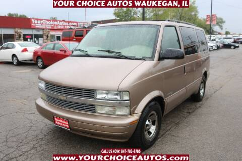 2002 Chevrolet Astro for sale at Your Choice Autos - Waukegan in Waukegan IL