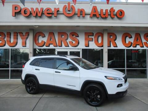 2017 Jeep Cherokee for sale at Power On Auto LLC in Monroe NC