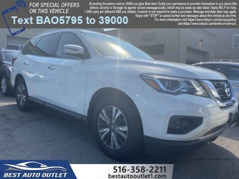 2018 Nissan Pathfinder for sale at Best Auto Outlet in Floral Park NY