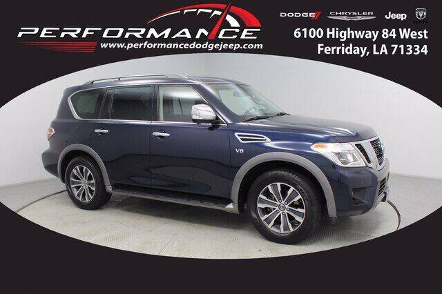 2019 Nissan Armada for sale at Performance Dodge Chrysler Jeep in Ferriday LA