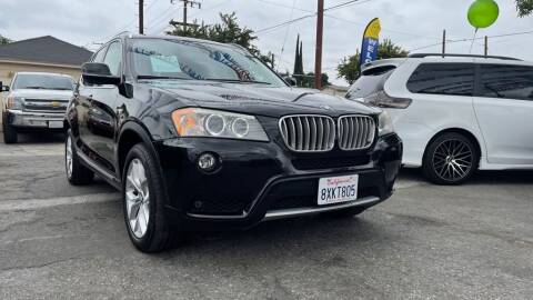 2011 BMW X3 for sale at Tristar Motors in Bell CA
