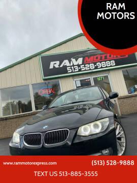 2011 BMW 3 Series for sale at RAM MOTORS in Cincinnati OH