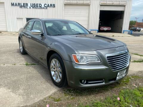 2012 Chrysler 300 for sale at MARLER USED CARS in Gainesville TX