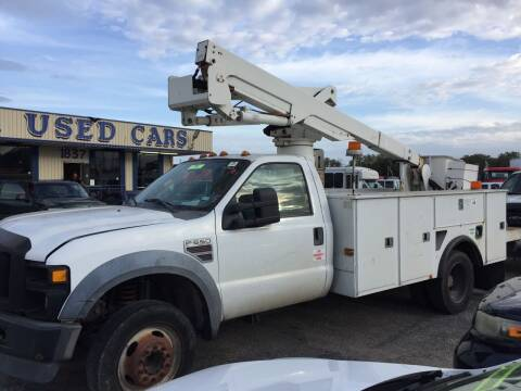2008 Ford F-550 Super Duty for sale at BSA Used Cars in Pasadena TX