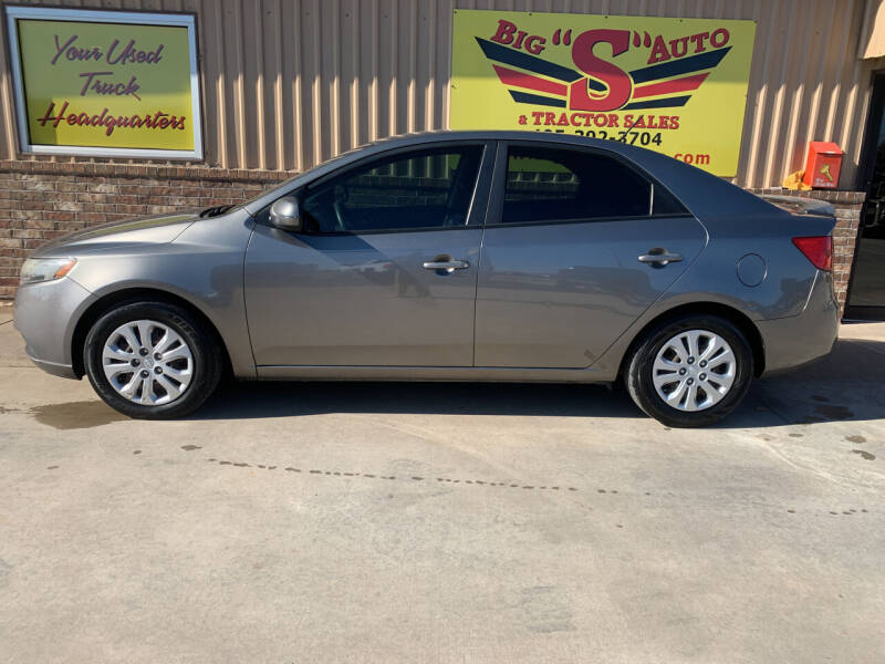 2012 Kia Forte for sale at BIG 'S' AUTO & TRACTOR SALES in Blanchard OK